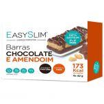 Easyslim Barras Sabor Chocolate e Amendoim 4x42gr