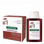 Klorane Keratin Pack Antiqueda Cápsulas + Champô Fortificante