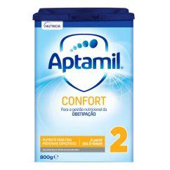 Aptamil Confort 2 Leite Anti-Cólicas e Obstipação 800gr