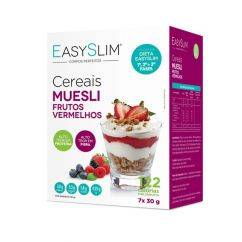 Easyslim Cereais Muesli e Frutos Vermelhos Saquetas 7x30gr