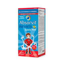 Absorvit Infantil Geleia Real Xarope 300ml