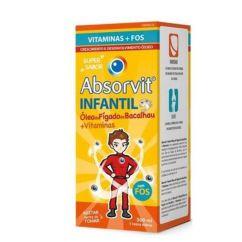 Absorvit Infantil Óleo de Fígado De Bacalhau 300ml