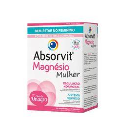 Absorvit Magnésio Mulher Duo Comprimidos + Cápsulas 30+30