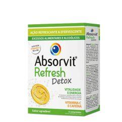 Absorvit Refresh Detox Comprimidos Efervescentes 12un