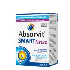 Absorvit Smart Neuro Cápsulas 30un