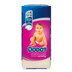 Dodot Activity T4 Fraldas 9-14kg 48unid.