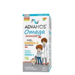 Advancis Omega Mousse Super Ómega-3 Laranja-Lima 100ml