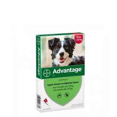 Advantage Cão 10-25kg Pipetas 2,5mlx4