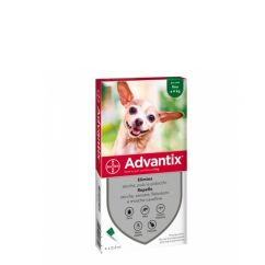 Advantix Cão 4kg Pipetas 0,4mlx4