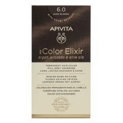 Apivita My Color Elixir Coloração Permanente Cor 6.0 Loiro Escuro