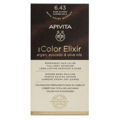 Apivita My Color Elixir Coloração Permanente Cor 6.43 Loiro Escuro Acobreado