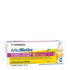 Arkobiotics Vitaminas e Defesas Kids Unidoses 7unid.