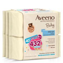 Aveeno Baby Pack Toalhitas de Limpeza 6x72unid.
