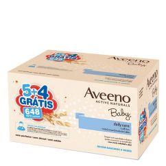 Aveeno Baby Pack Toalhitas 9x72unid.