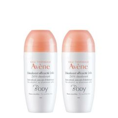 Avène Body Duo Desodorizante 24h Roll-On