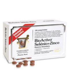 Bioactivo Selénio + Zinco Comprimidos 150unid.