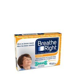 Breathe Right Junior Tiras Nasais 10unid.