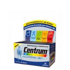 Centrum Select 50+ Homem Comprimidos Revestidos 30unid.