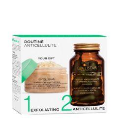 Collistar Pure Actives Kit Anti Celulite Cápsulas + Esfoliante