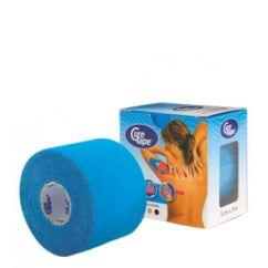 Cure Tape Banda Adesiva Kinésio Azul 5mx5cm