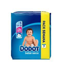 Dodot Bebé Seco T5 Fraldas 11-16kg 26unid
