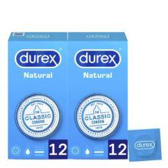 Durex Natural Plus Duo Preservativos