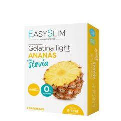 EasySlim Gelatina Light Ananás com Stevia Saquetas 2x15gr