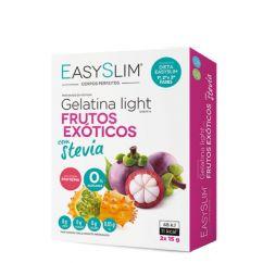 Easyslim Gelatina Light Frutos Exóticos com Stevia Saquetas 2x15gr
