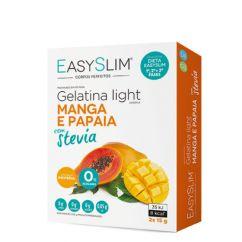 Easyslim Gelatina Light Manga/Papaia com Stevia Saquetas 2x15gr