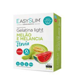Easyslim Gelatina Light Melão/Melancia com Stevia Saquetas 2x15gr