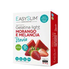 Easyslim Gelatina Light Morango/Melancia com Stevia Saquetas 2x15gr