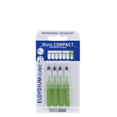 Elgydium Clinic Escovilhões Mono Compact Verde 4un.