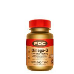 FDC Omega-3 (EPA/DHA) 1000mg 100 unid.