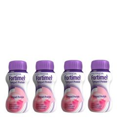 Fortimel Compact Protein Morango 4x125ml