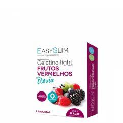 EasySlim Gelatina Light Frutos Vermelhos com Stevia 2saq.