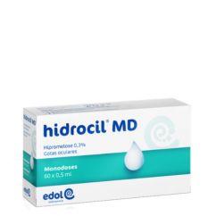 Hidrocil MD Solução Oftálmica Monodoses 0.3% 60unid.