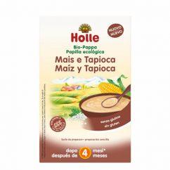 Holle Bio Papa Milho e Tapioca 4M 250gr