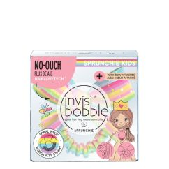 Invisibobble Kids Slim Sprunchie Bow - Let's Chase Rainbows