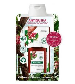 Klorane Quinina Bio Shampoo Fortificante Antiqueda Oferta de 100ml