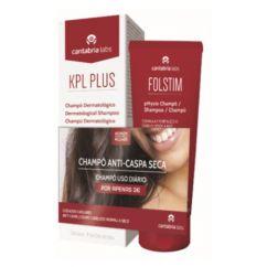 KPL Plus Pack Champô Dermatológico + Champô Antiqueda