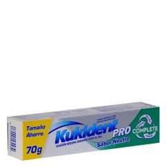 Kukident Pro Complete Sabor Neutro Creme Fixador de Próteses 70g