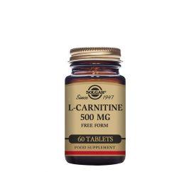Solgar L-Carnitina 500mg Suplemento Comprimidos 60unid