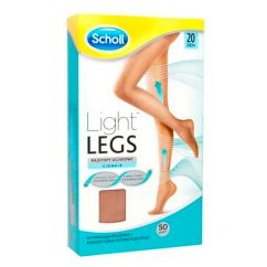 Dr. Scholl Light Legs Collants Compressão 20DEN Tamanho L Cor Pele 1unid.