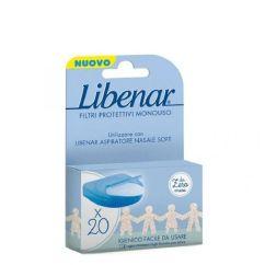 Libenar Baby Recargas Aspirador Nasal Filtros Descartáveis 20unid.