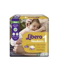 Libero Newborn Tamanho 1 Fraldas 2-5 Kg 24unid.