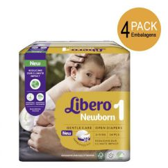 Libero Newborn Tamanho 1 Pack Fraldas 2-5 kg 4x24unid.