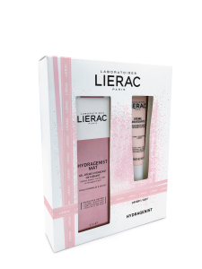 Lierac Coffret Hydragenist Creme Mat 30ml+Creme Mousse Limpeza 30ml