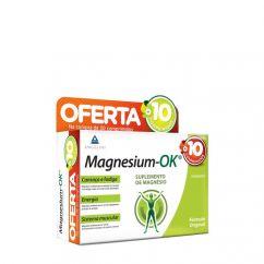 Magnesium-OK Suplemento Alimentar Comprimidos 40unid.