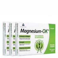 Magnesium-OK Suplemento Alimentar Comprimidos Promo 90unid.