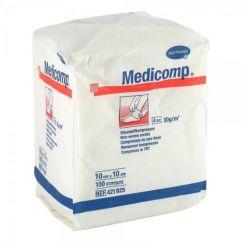Medicomp Compressas Tecido Não Tecido 10x10cm 100unid.